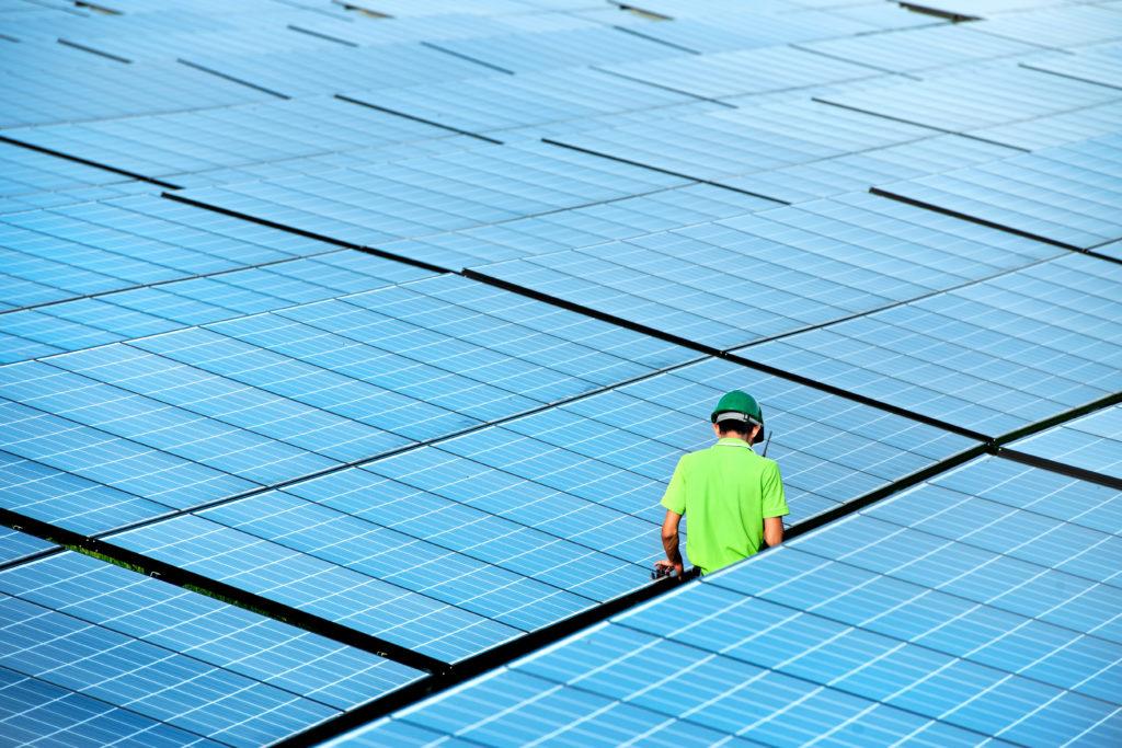 In Deutschland wurden bis 2016 rund 2,25 Millionen Solaranlagen installiert.