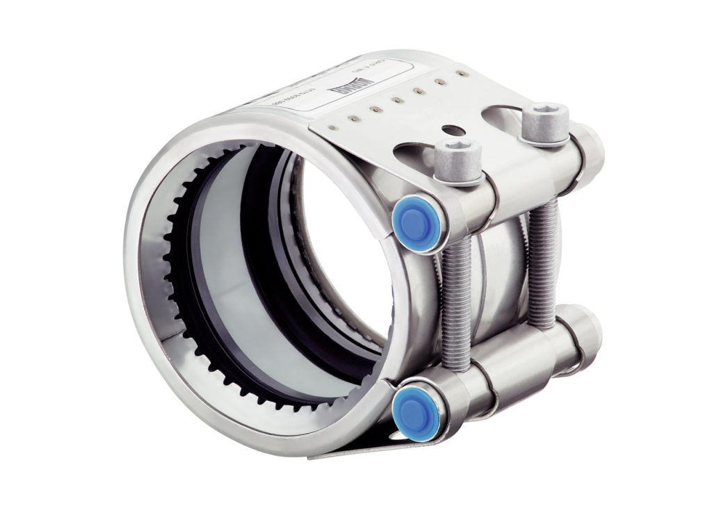 NORMA Group FGR GRIP pipe coupling