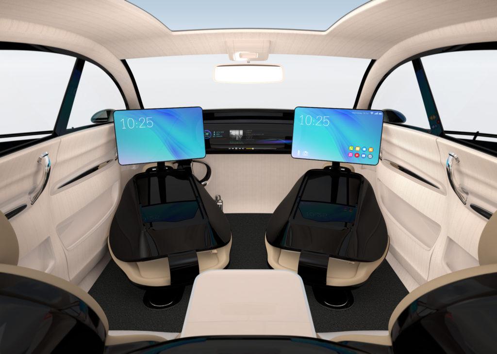 Mobilitaet-Selbstfahrendes Auto