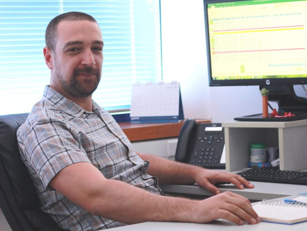 Vladimir Pantovic has been working for six years at NORMA Group in Subotica.