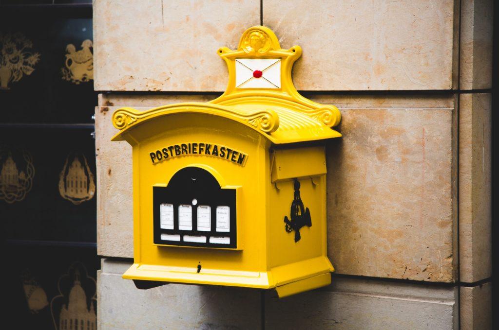 Kein Lebensmittel-Discounter-Briefkasten