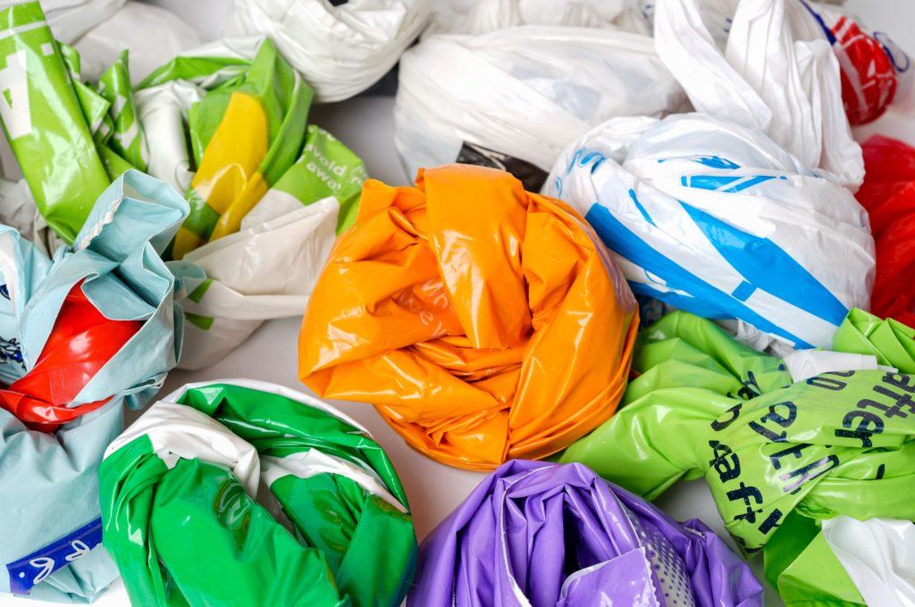 Kein Lebensmittel-Discounter-Plastiktüten