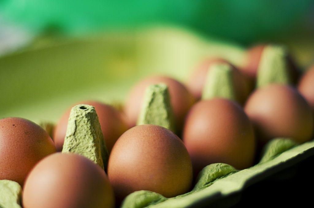 Kein Lebensmittel-Discounter-Eier