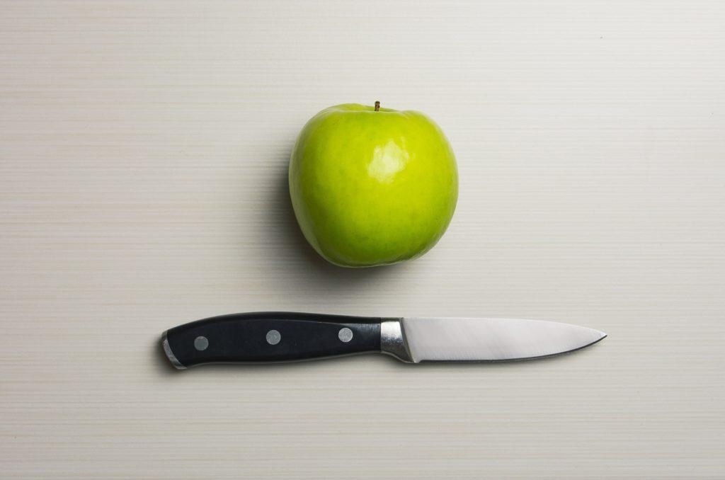 Kein Lebensmittel-Discounter-Messer