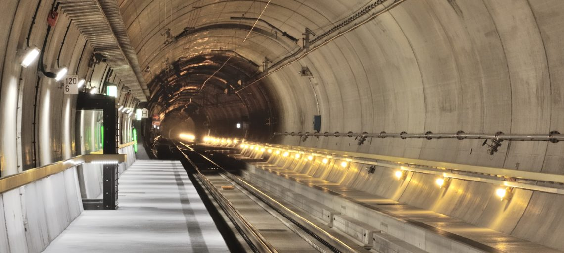 Gotthard Base Tunnel Porta Alpina