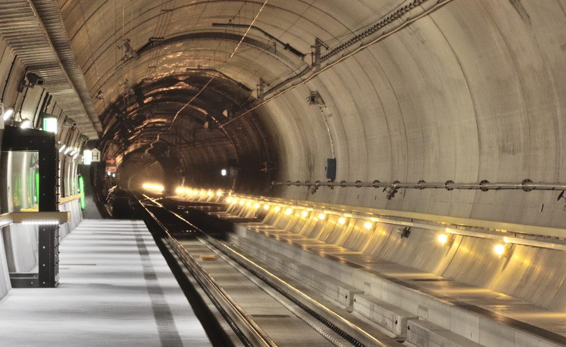 Gotthard Base Tunnel Porta Alpina
