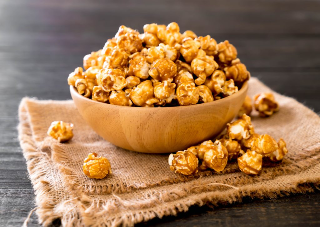 You want some caramel popcorn? We do! That's why we are a part of popcorn-making in many cinemas in the US. Inside the popcorn machines, our TORRO clamps connect the lines that transport the hot oil.