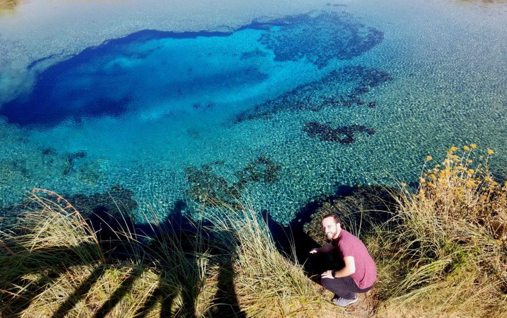 Hussein Faraj erkundet die Natur rund um Monterrey während seines Auslandsaufenthalts.