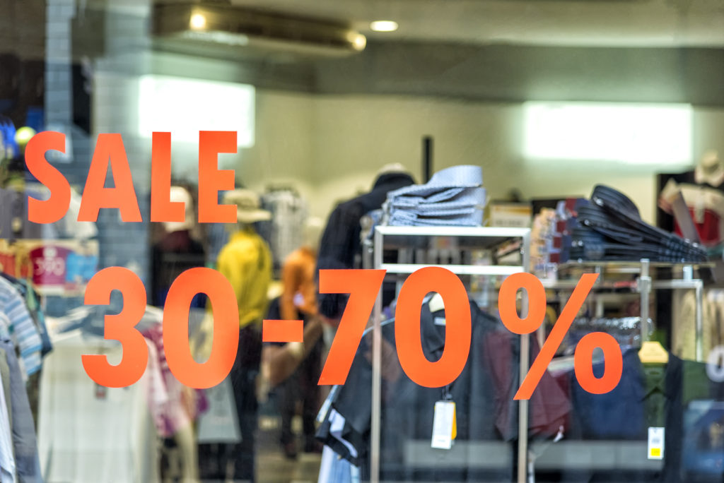 Sales discounts are a common instrument of price wars.