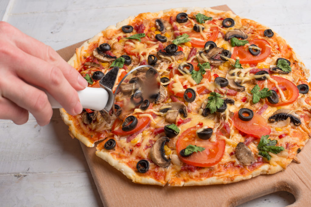 Experiments with pizza show that the right choice has also influence on the price.