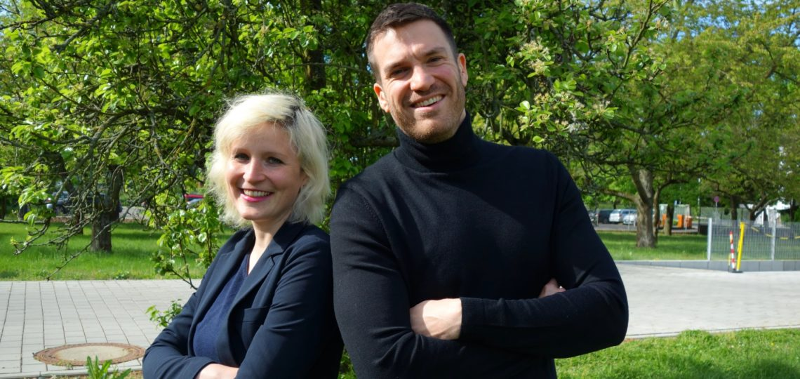 Esther Doeringer and Markus Bulgrin form the Social Media team at NORMA Group