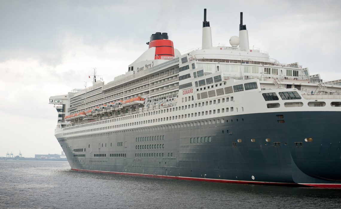 The Queen Mary 2 houses a total of around 15,000 NORMA Group pipe couplings.