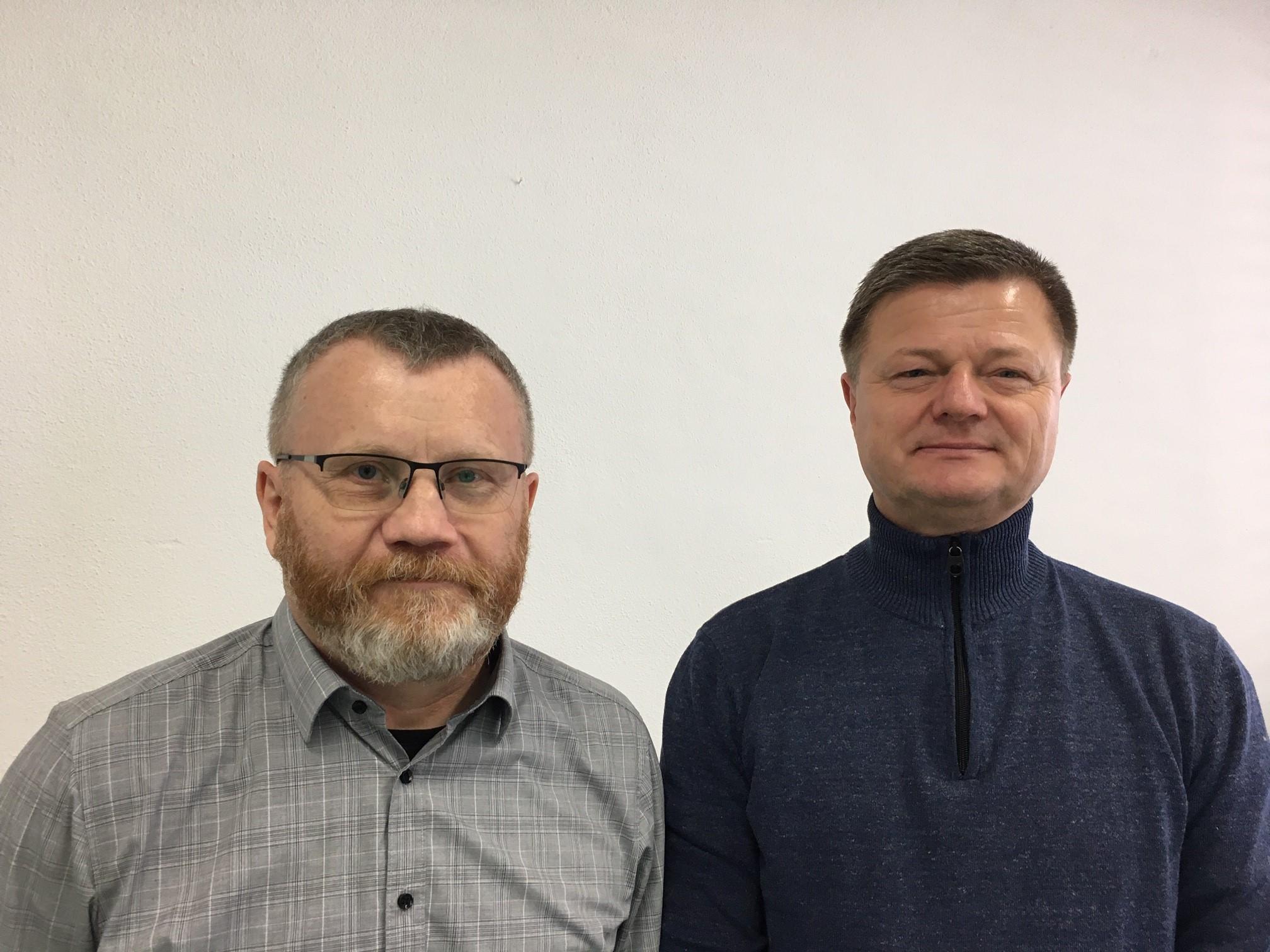 Andreas Bauer und Peter Golla